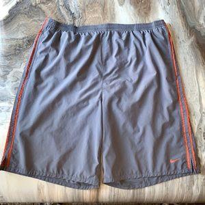 Nike Mens XL Dri Fit Work Out Shorts Running Swim
